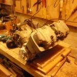 cb 750 le bloc moteur